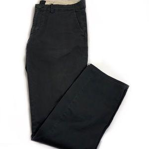 💥Basic Zara Man Forest Green Dress Pants